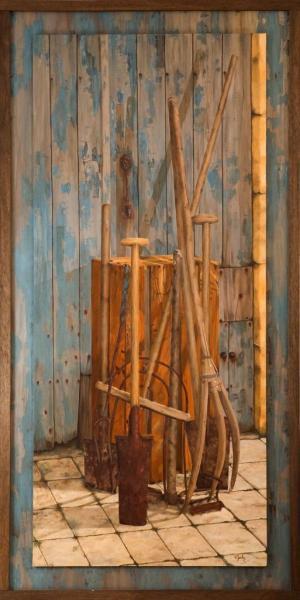 Fourches centenaires (129x259) 4500€