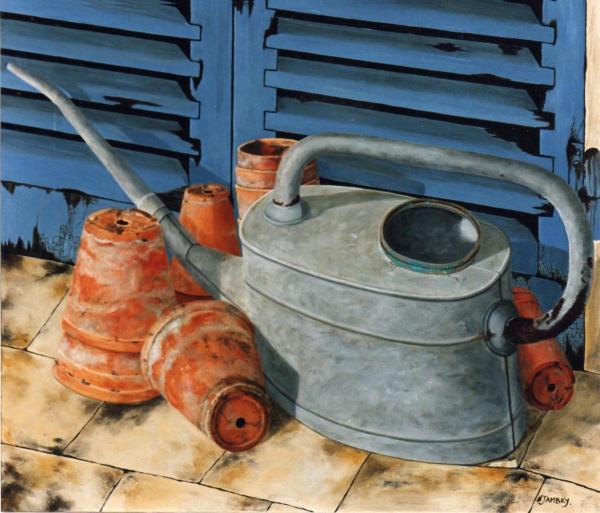 L'arrosoir à bec (vendu)